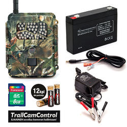 Wildlife photographers trail camera package